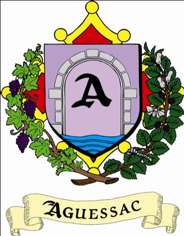 Blason Aguessac