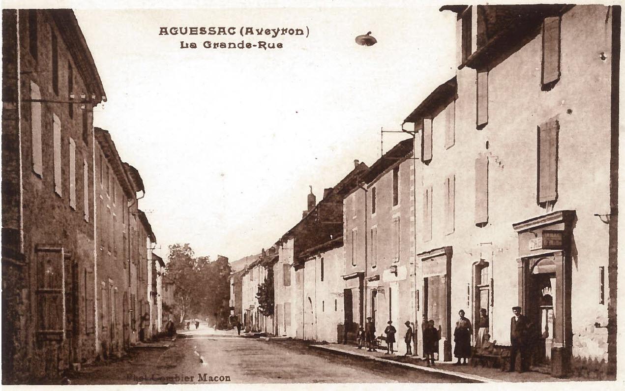 Grand Rue d'Aguessac